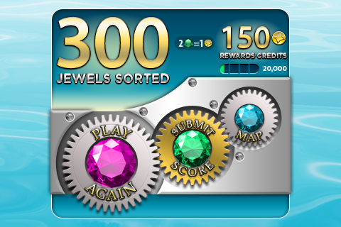 Jewel Factory Score Screen