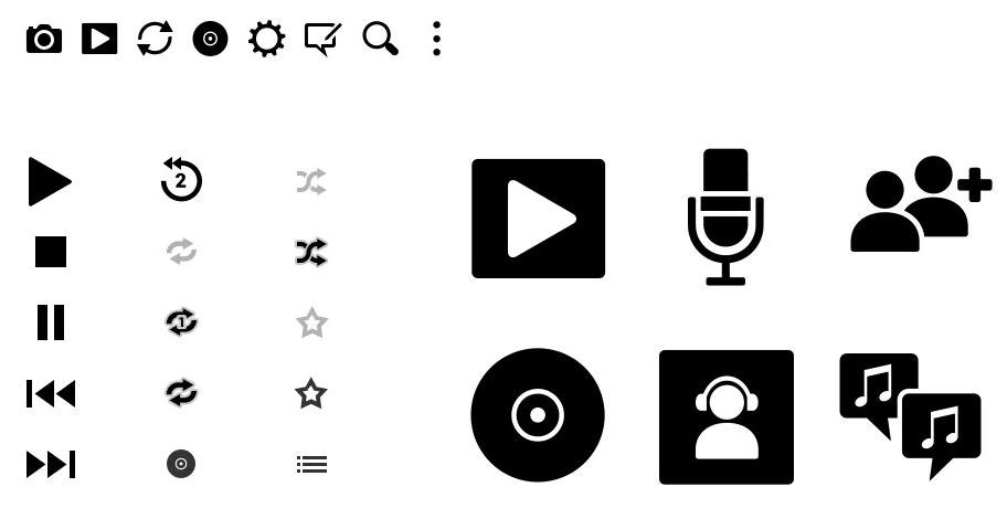 Icon Design - Tunewiki UI