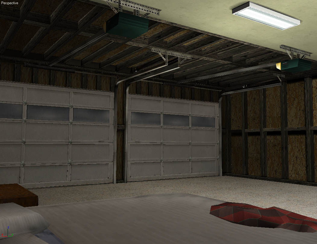 3D Game Environments World Championship Cards Garage 3