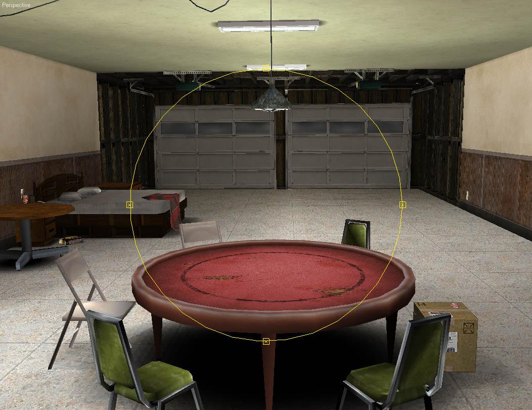 3D Game Environments World Championship Cards Garage 2