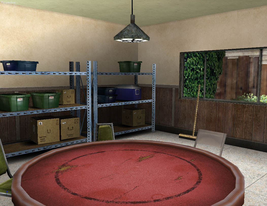 3D Game Environments World Championship Cards Garage 1