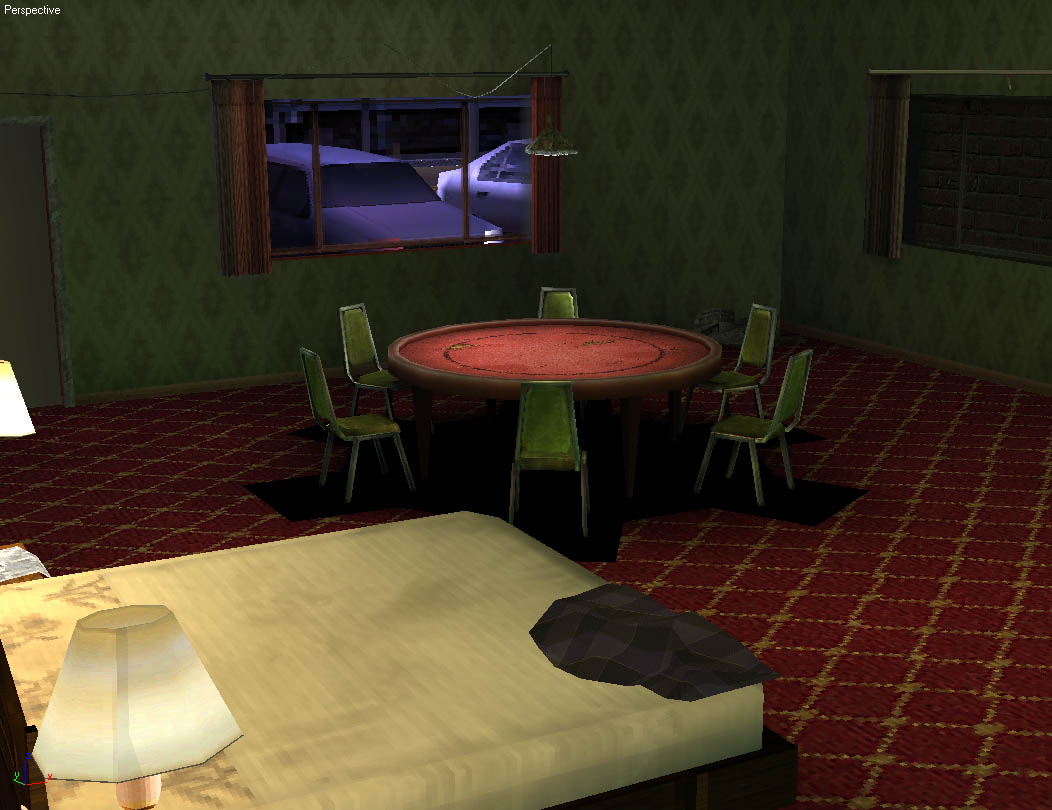 3D Game Environments World Championship Cards Motel 4