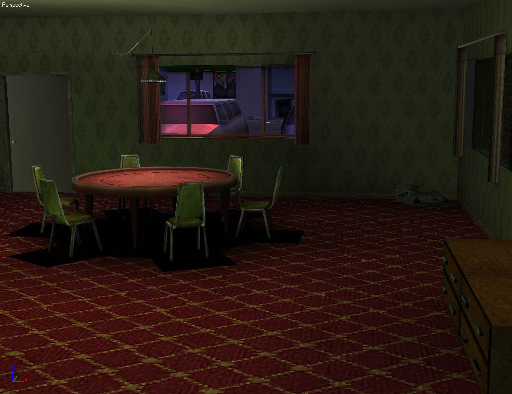3D Game Environments World Championship Cards Hotel 3
