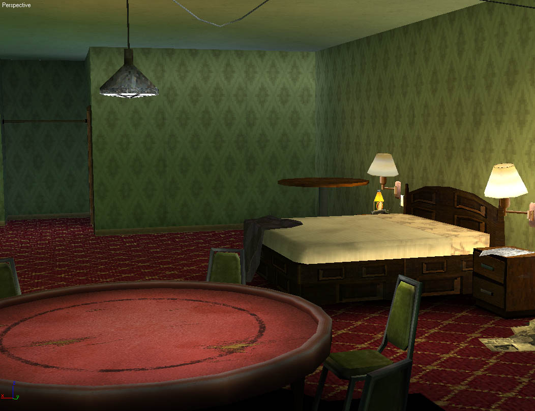 3D Game Environments World Championship Cards Hotel 2