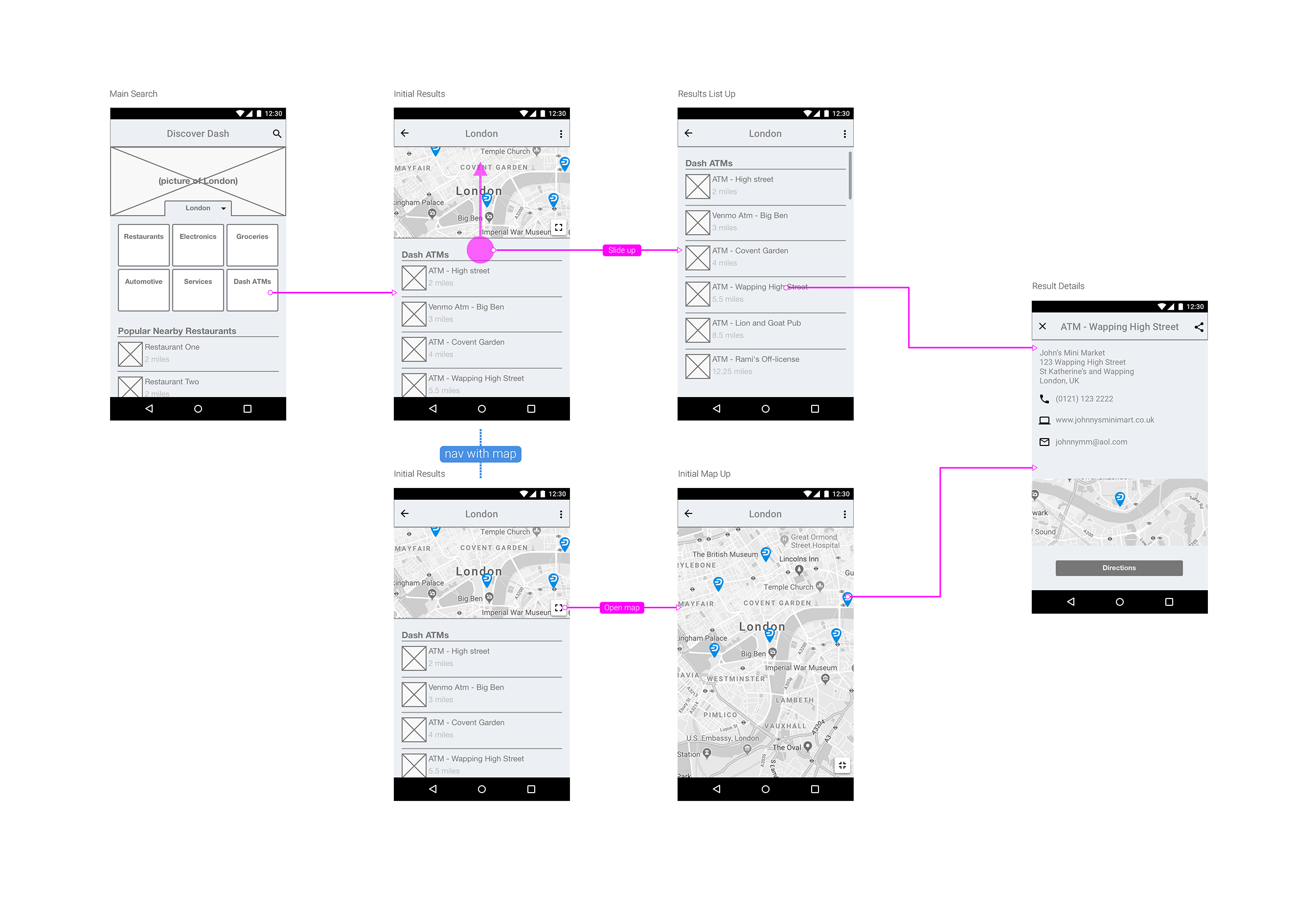 Discover Dash App Flow Wires
