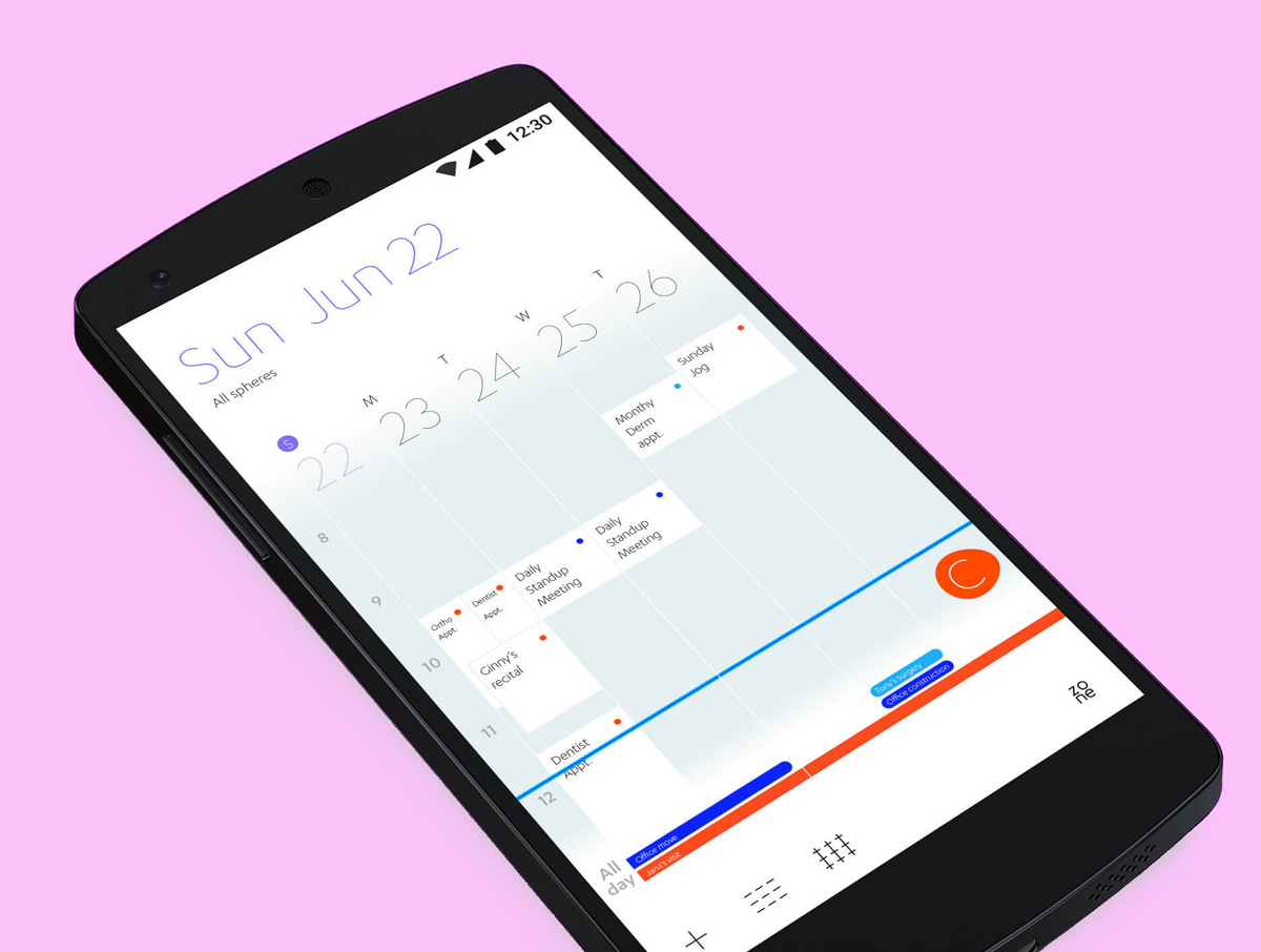 Productivity App UI