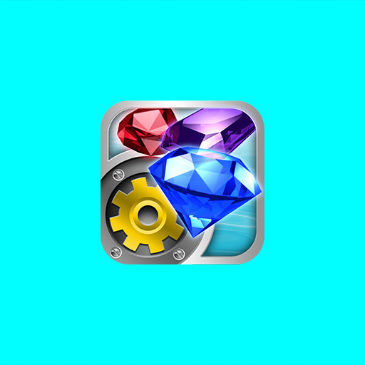 Jewel Factory v.1 iOS App Icon Design Illustration