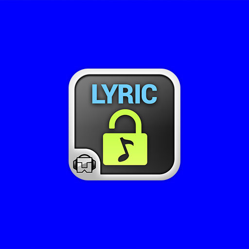 Tunewiki Lock Screen Widget Android App Icon Design Illustration