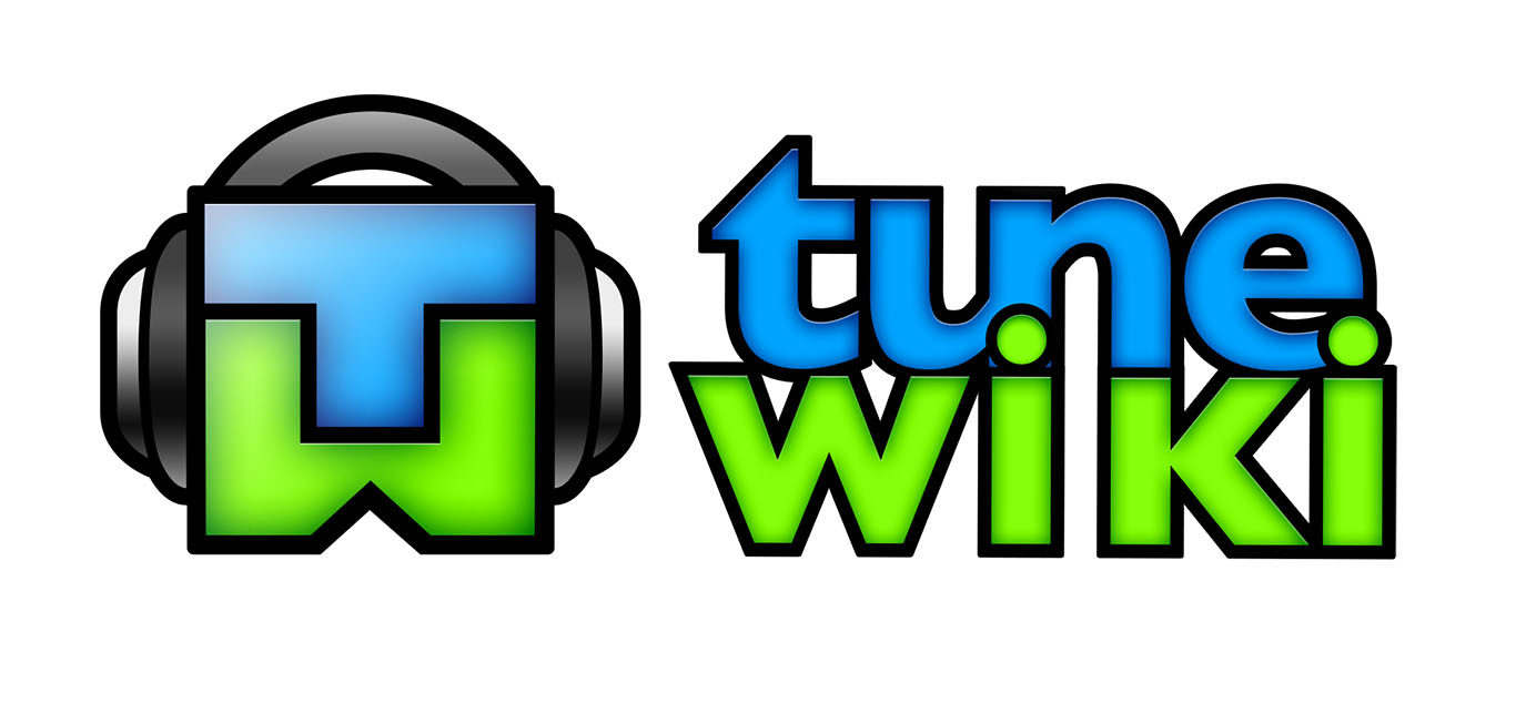Tunewiki stacked logo design 2