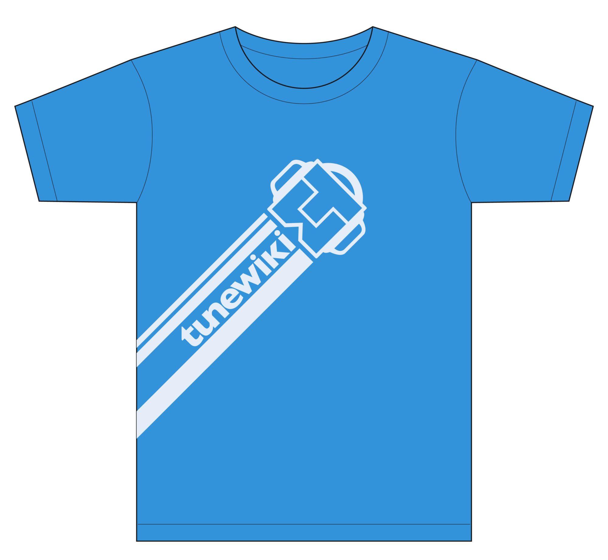 Tunewiki Tshirt Design
